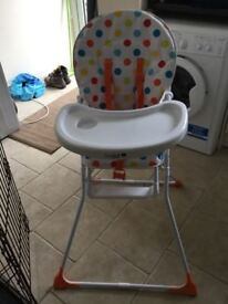 2xbaby high chairs brand new