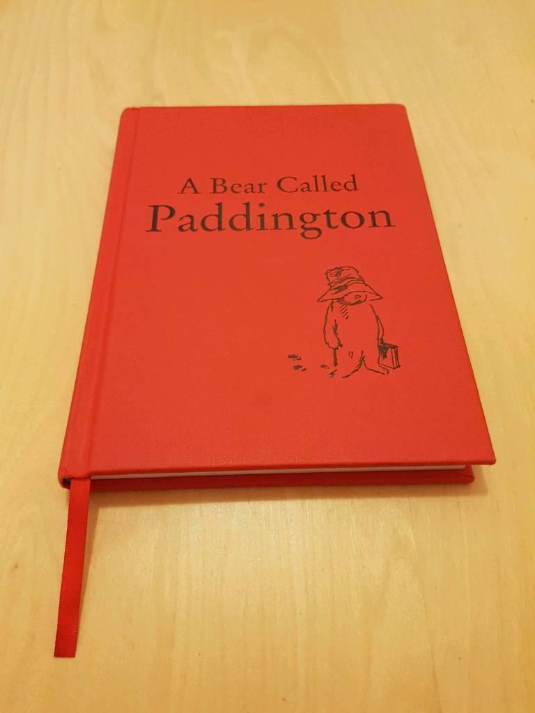 A bear called Paddington hardback book