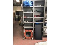 Metal Shelving Bays