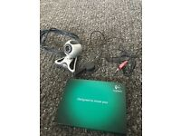 Logitech camera and microphone