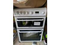•|New|• Hotpoint HAG60P Gas Double Oven Cooker
