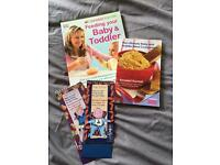 Baby Weaning Books X4