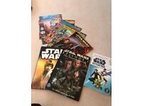 Star Wars easy reader box set and magazines