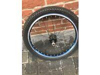 BMX 20 inch rear wheel