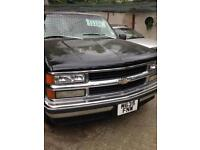 Chevrolet Tahoe Automatic, 1995, 5.7cc, LPG, left hand drive, loads of service history, long mot.