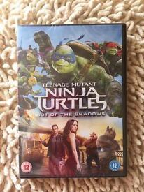 Teenage Mutant Ninja Turtles DVD- New