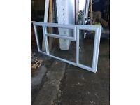 Large upvc double glazed window