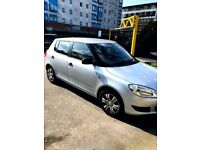 REG62 SKODA FABIA 1.6 TDI SILVER MINT 1 PR OWNER WANT QUICK SALE SELLING CHEAP ONLY 19K ON THE CLOCK