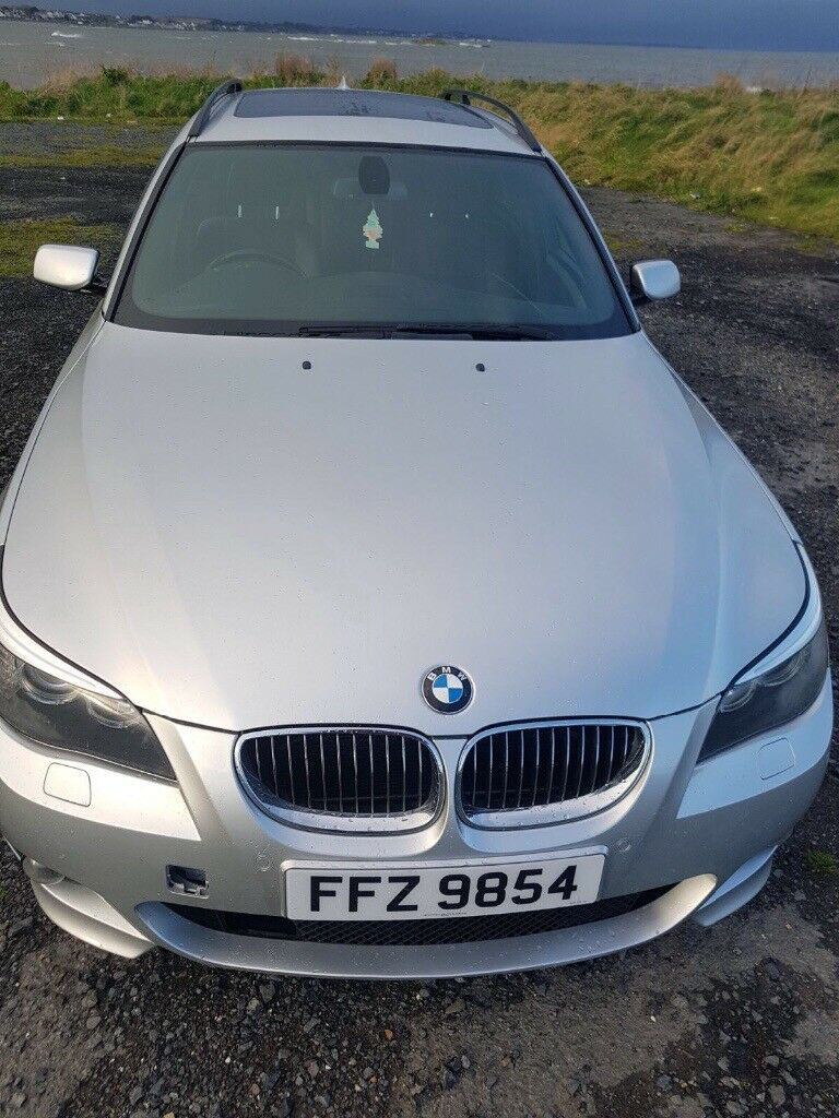 BMW LCI 525D M SPORT 2007 may px swap x5 audi wrx
