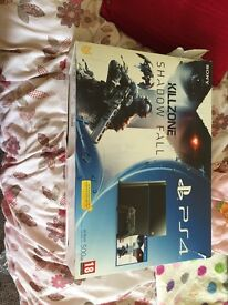 PS4 console and 2 games brought at Xmas but partner perferred the Xbox. games - NEW COD &killzone