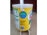 Sandtex paint 5 litre used white