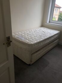 Single bed with pull out guest bed trundle