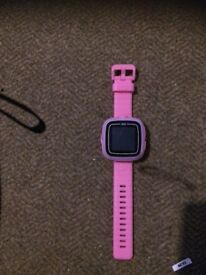 Pink Vtech activity watch with camera