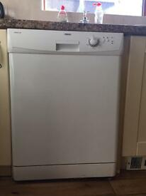 Standard Dishwasher Zanussi tempoline suitable for under worktop