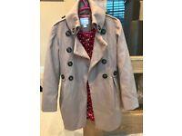 NEXT girls coat. Aged 9-10