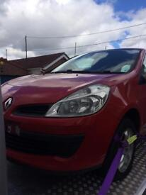 Clio front end 1.5 dci