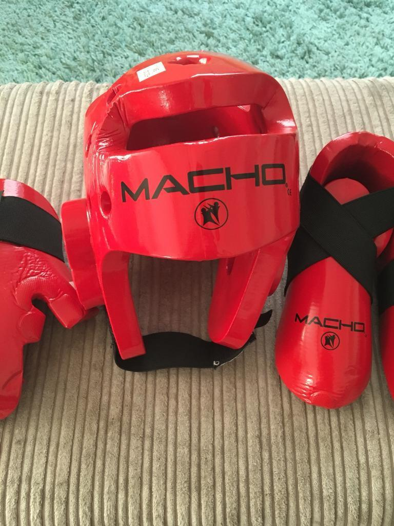 Child's Macho martial arts sparring kit