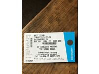 1 Stone Roses ticket for Glasgow