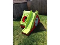 Children's Garden Play House Slide