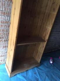 Oak Wood Book Shelf