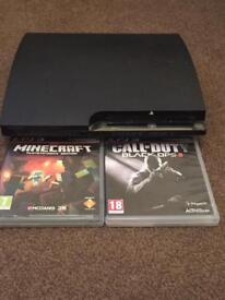 PS3 and bo2 and minecraft £68