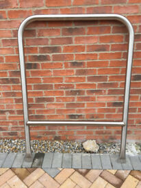 Stainless Steel Cycle Hoops / Handrail / Balustrades (3 in total) £30 each ono.