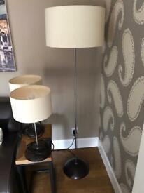 3 Matching Lamps