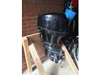 Parsun 40Hp Outboard Motor with electric start, controls, battery and box