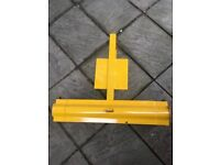Large security wheel clamp