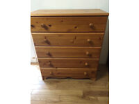 Chest of drawers, vgc