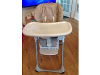 Chicco Polly Highchair - Good condition apart from not having the new baby nest.