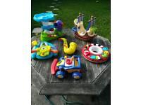 Bundle of children's toys,