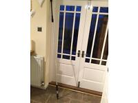 Pressure washer extension bar plus lance fitting