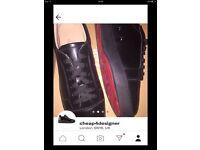 Christian Louboutin half calf sneaker size 11