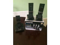 Panasonic KX-TG8063 Telephones.