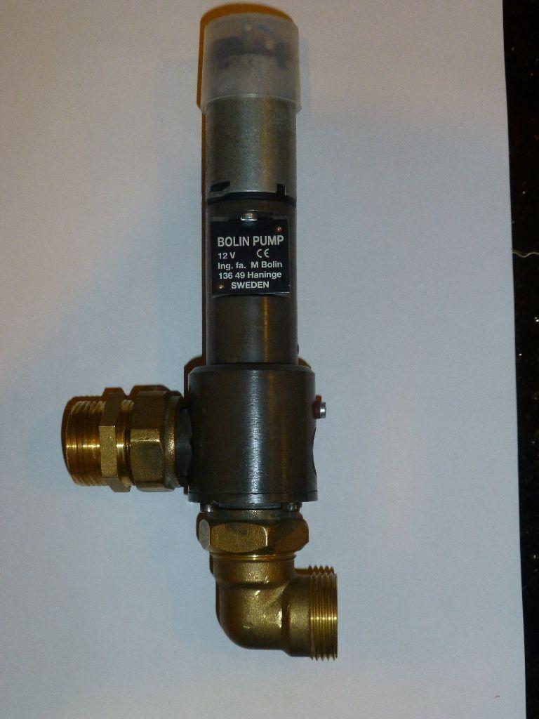 Bolin EVP500 12volt circulating pump for central heating system,boat ...