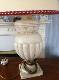 table lamps (matching pair available)