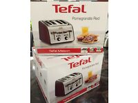 Brand new Teffal toaster 4 slice 2 available