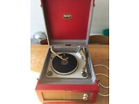 Vintage Dansette Major Deluxe Record Player - FULLY WORKING CONDITION