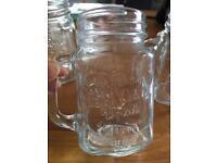 6 x jar glasses