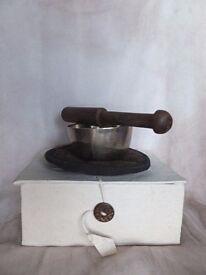 New Fair Trade Small Brass Singing Bowl Set