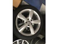 "20"" GENUINE AUDI Q7 ALLOYS AND TYRES"