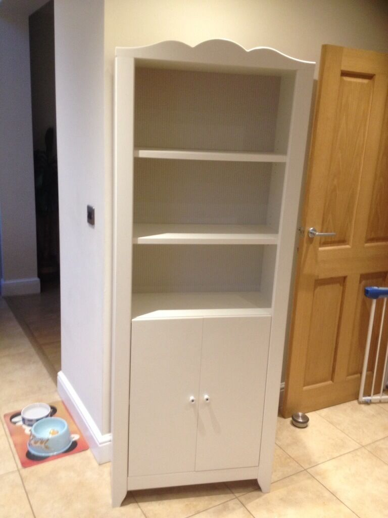 ikea 39 hensvik 39 white bookcase storage unit in sidcup. Black Bedroom Furniture Sets. Home Design Ideas