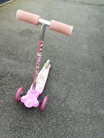 Hello Kitty Scooty and activity table