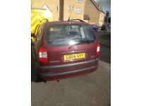 Low Mileage 2.0 dti diesel Vauxhall zafira 57k.. One of the lowest zafira diesels on the road