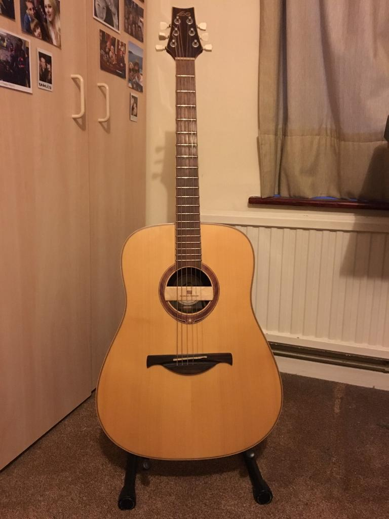 LAG Four (4) Seasons \'Winter\' Acoustic Guitar with Seymour Duncan ...