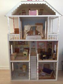 Wooden doll house (Costco)