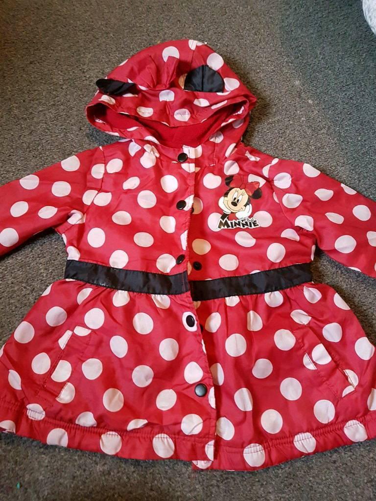Minnie rain coat