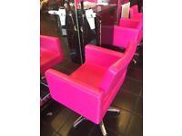 SALON FURNITURE , Salon Chairs , Stool , Reception Desk , waiting Sofa