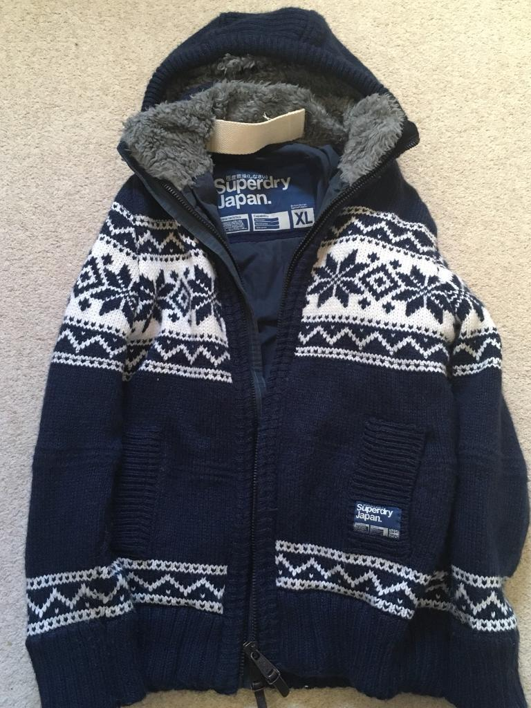 Superdry warm winter coat XL £20